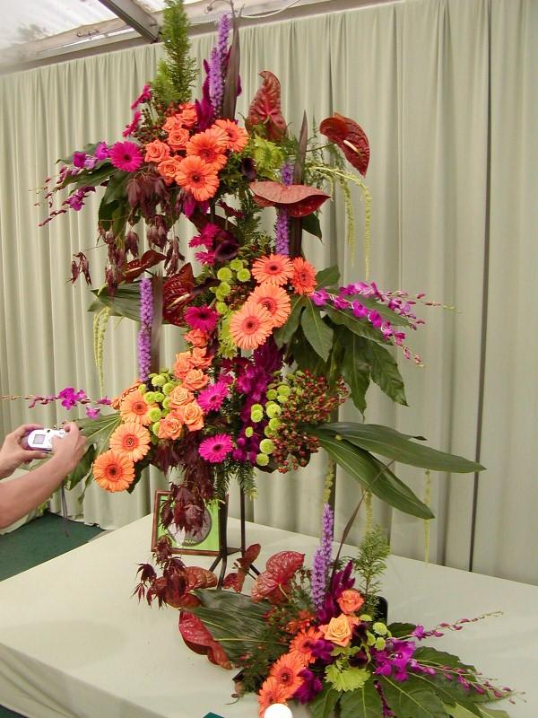 Barbara r felisky chelsea flower show 4 25 2005 for Garden arrangement